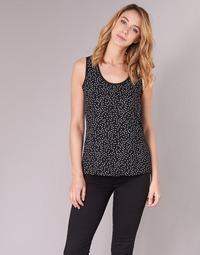 textil Mujer Tops / Blusas Moony Mood EZTEL Negro / Blanco