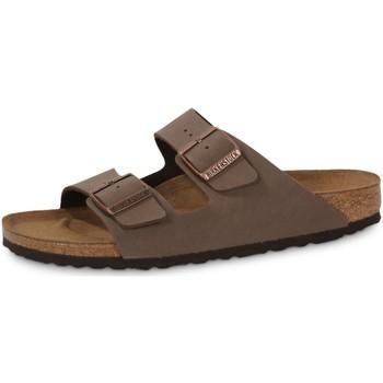Zapatos Hombre Zuecos (Mules) Birkenstock Arizona Mocca Noir