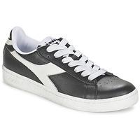 Zapatos Zapatillas bajas Diadora GAME L LOW Negro / Blanco