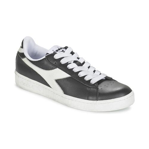 Zapatos especiales para hombres y mujeres Diadora GAME L LOW Negro / Blanco - Envío gratis Nueva promoción - Zapatos Deportivas bajas