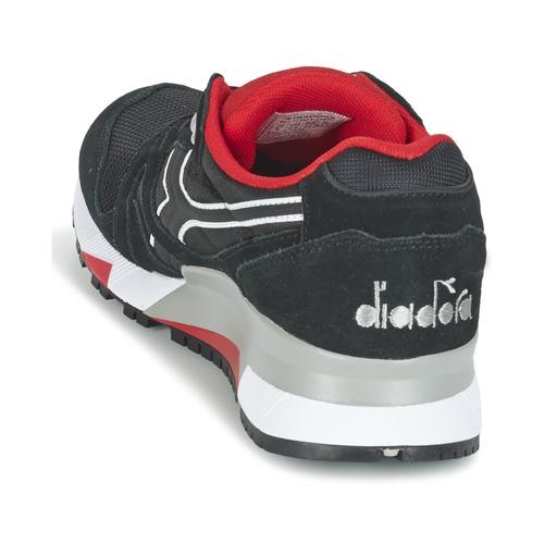 Zapatillas Ii Zapatos Diadora Nylon NegroRojo N9000 Bajas 0wOknP