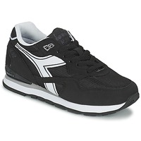 Zapatos Zapatillas bajas Diadora N-92 Negro / Blanco