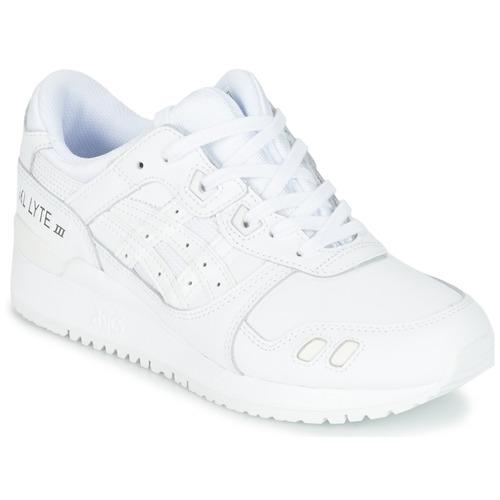 Zapatos promocionales Asics GEL-LYTE III Blanco  Cómodo y bien parecido