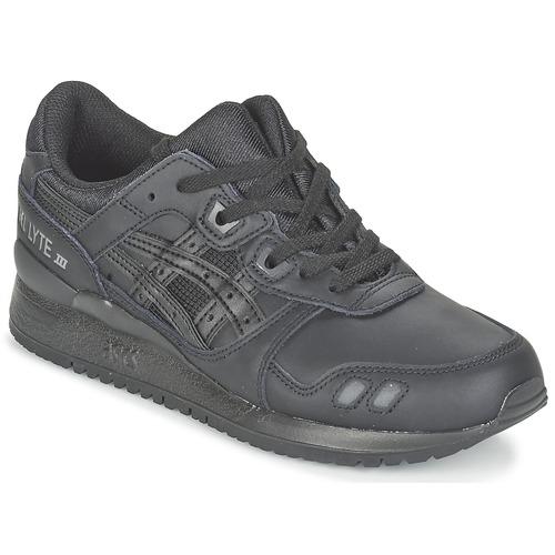 Zapatos casuales salvajes Zapatos especiales Asics GEL-LYTE III Negro