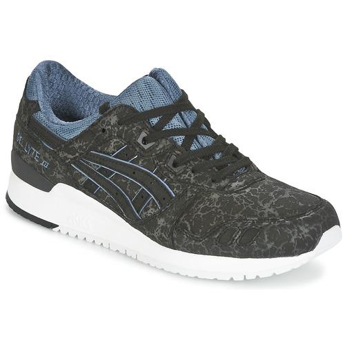 Zapatos promocionales Asics GEL-LYTE III Negro / Azul  Los últimos zapatos de descuento para hombres y mujeres