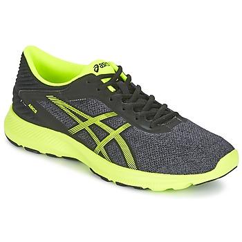 Zapatos Hombre Running / trail Asics NITROFUZE Gris / Amarillo