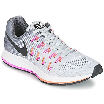 Zapatos Mujer Running / trail Nike AIR ZOOM PEGASUS 33 W Gris / Rosa