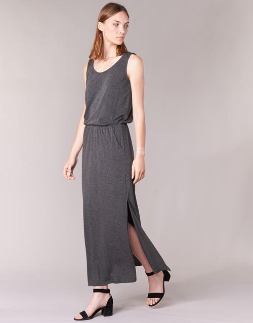 Erlie Vestidos Betty London Mujer Largos Textil Gris T3lF1cuKJ5