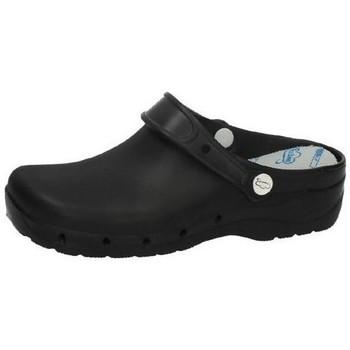 Zapatos Hombre Zuecos (Clogs) Feliz Caminar Zuecos para trabajar NEGRO