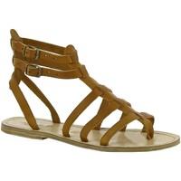 Zapatos Mujer Sandalias Gianluca - L'artigiano Del Cuoio 506 D CUOIO LGT-CUOIO Cuoio