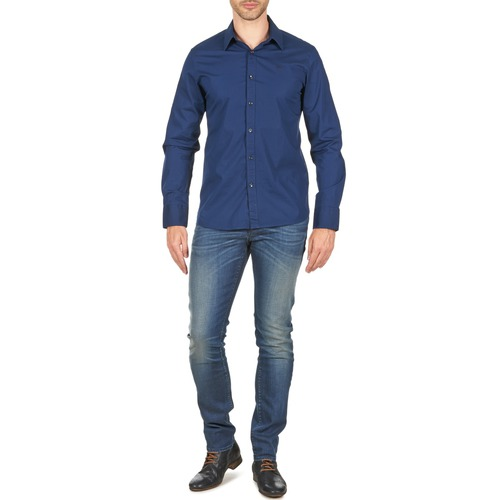 Textil Hombre Mind Mankind All Ronnie AzulMedium 7 For Vaqueros Slim Electric SUzMVp