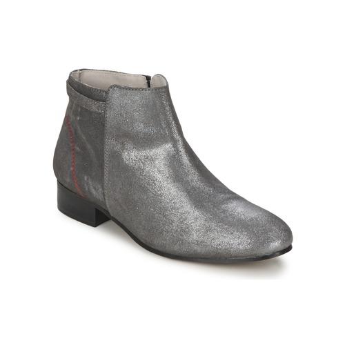 Alba Moda FLONI Plata - Envío gratis | ! - Zapatos Botas de caña baja Mujer