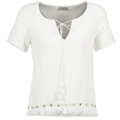 textil Mujer Tops / Blusas Betty London ECHRALE Crudo