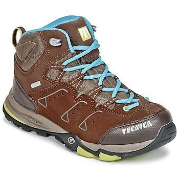 Zapatos Niños Senderismo Tecnica CYCLONE III MID TCY JUNIOR Marrón / Azul