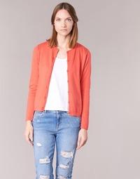 textil Mujer Chaquetas de punto BOTD EVANITOA Coral