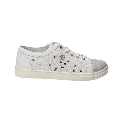 Zapatos Niña Zapatillas bajas Blumarine D1443 Blanco
