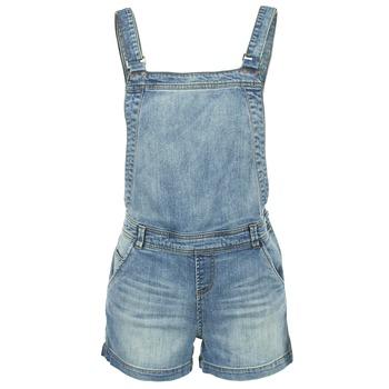 textil Mujer Monos / Petos Naf Naf GUERIC Azul / Medium