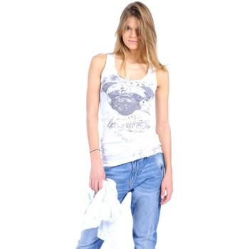 textil Mujer Camisetas sin mangas Rich & Royal Débardeur 11q435 Blanc Blanco