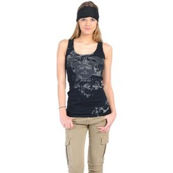 textil Mujer Camisetas sin mangas Rich & Royal Débardeur 11q435 Noir Negro