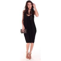 textil Mujer Vestidos cortos Rich & Royal Robe 11Q663 Negro