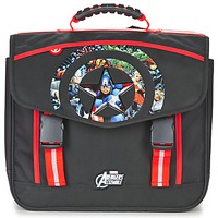 Bolsos Niño Cartable Dessins Animés AVENGERS CARTABLE 41CM Negro