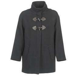 textil Mujer Abrigos Benetton DILO Negro