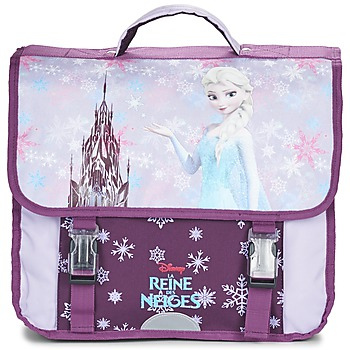 Bolsos Niña Cartable Disney REINE DES NEIGES CARTABLE 38CM Malva