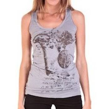 textil Mujer Camisetas sin mangas Rich & Royal DEBARDEUR VIKO GRIS Gris