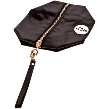 Bolsos Mujer Bolso pequeño / Cartera Very Bag Street Pochette besace bouton doré Noire Negro