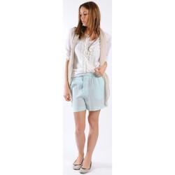 textil Mujer Shorts / Bermudas Gat Rimon BERMUDA HARLEY MENTHE Verde
