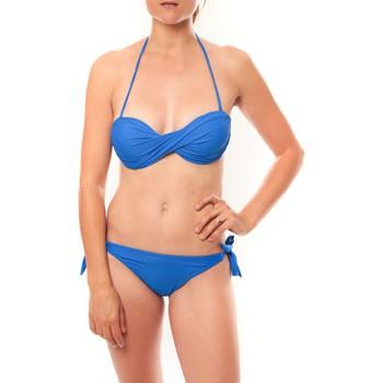 textil Mujer Bikini Playa Del Sol Maillot de bain B9809 Bleu Azul