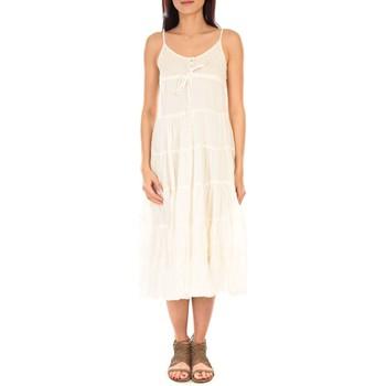textil Mujer Vestidos largos Vision De Reve Vision de Rêve Robe 7097 Écru Beige