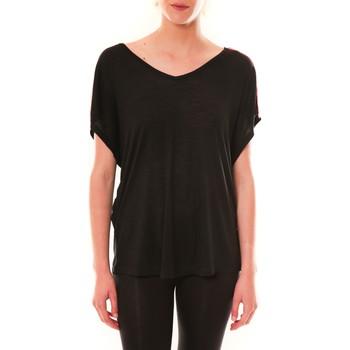 textil Mujer Camisetas manga corta Dress Code Top M-9388  Noir Negro