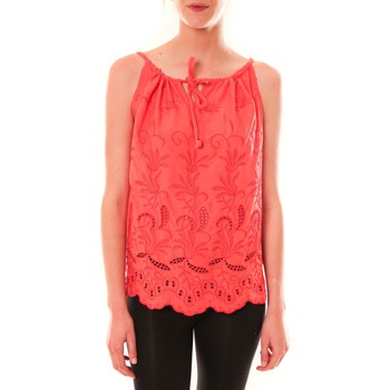 textil Mujer Camisetas sin mangas Dress Code Debardeur HS-1019  Rose Rosa