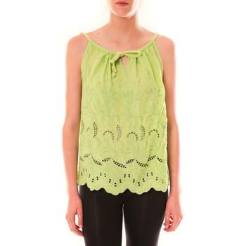 textil Mujer Camisetas sin mangas Dress Code Debardeur HS-1019  Amande Verde