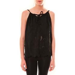 textil Mujer Camisetas sin mangas Dress Code Debardeur HS-1019  Noir Negro