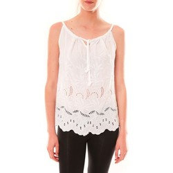 textil Mujer Camisetas sin mangas Dress Code Debardeur HS-1019  Blanc Blanco