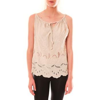 textil Mujer Camisetas sin mangas Dress Code Debardeur HS-1019  Beige Beige