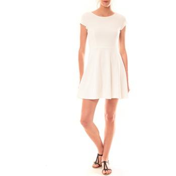 textil Mujer Vestidos cortos La Vitrine De La Mode Robe LC-0421 By La Vitrine Blanche Blanco