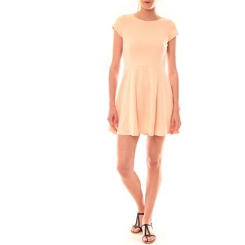 textil Mujer Vestidos cortos La Vitrine De La Mode Robe LC-0421 By La Vitrine Rose Rosa