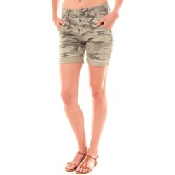 textil Mujer Shorts / Bermudas Dress Code Bermuda RX911  Kaki Verde