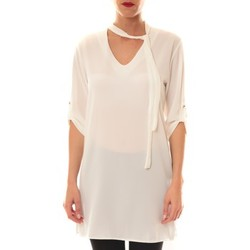 textil Mujer Tops / Blusas La Vitrine De La Mode Robe 156 By La Vitrine Blanche Blanco