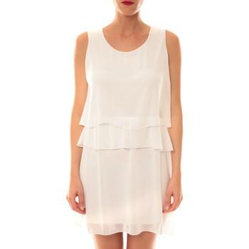textil Mujer Vestidos cortos La Vitrine De La Mode Robe TROIS By La Vitrine Blanche Blanco