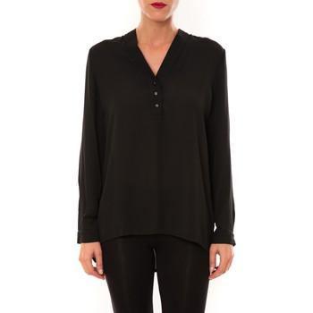 textil Mujer Tops / Blusas La Vitrine De La Mode By La Vitrine Blouse M3060 noir Negro