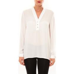 textil Mujer Tops / Blusas La Vitrine De La Mode By La Vitrine Blouse M3060 blanc Blanco