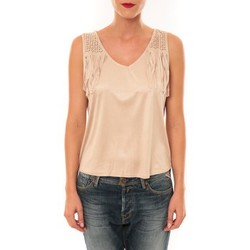 textil Mujer Camisetas sin mangas Nina Rocca Top MC1998 beige Beige