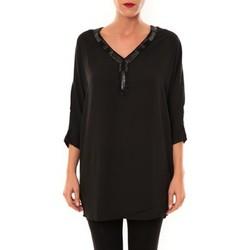 textil Mujer Túnicas La Vitrine De La Mode By La Vitrine Tunique LW15002 noir Negro
