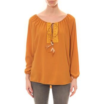 textil Mujer Túnicas Dress Code Tunique Zinka Moutarde Amarillo
