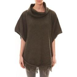 textil Mujer Jerséis La Vitrine De La Mode Poncho Kaki Verde