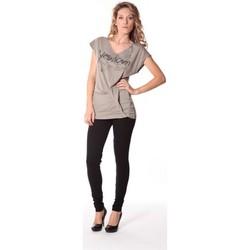 textil Mujer Camisetas manga corta Rich & Royal Tee-shirt Yes 13q424 Gris Gris